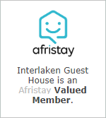 Interlaken Guest House is an Afristay Valued Member